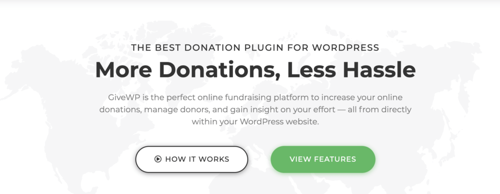 WordPress Donation Plugin