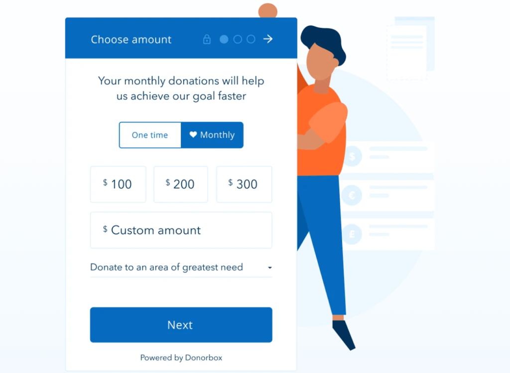 Worrdpress Donation Box Popup