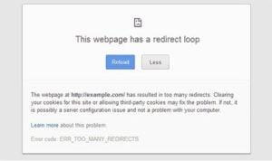 error in wp