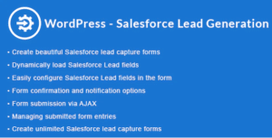 wordpress salesforce