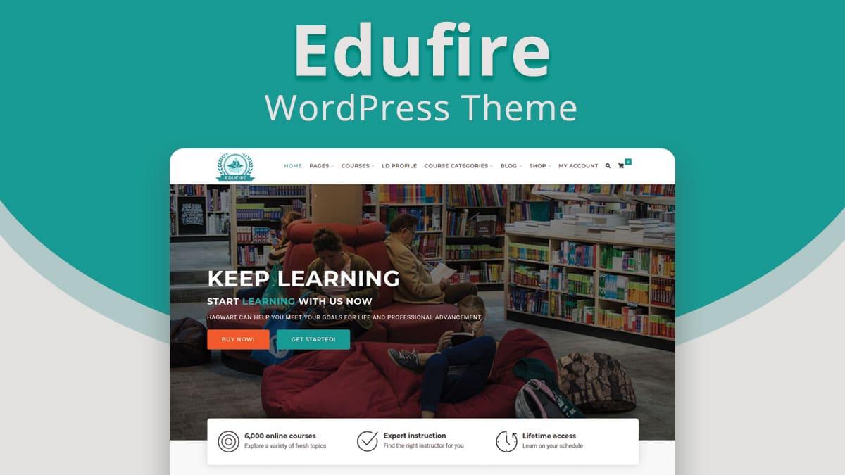 WordPress LMS Theme