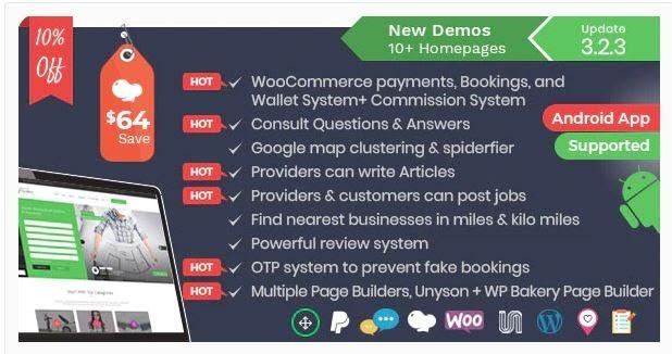 Business Listing WordPress Themes
