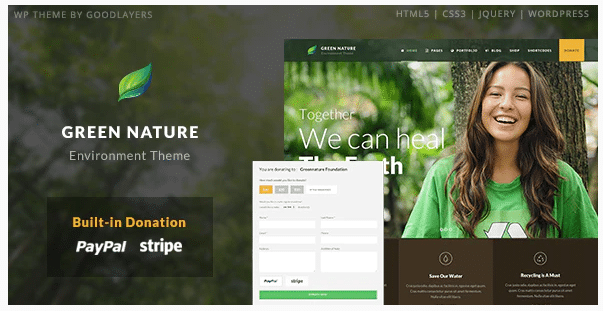 Environmental WordPress Themes