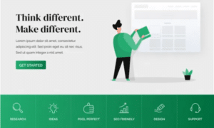 Free WordPress Landing Page Themes