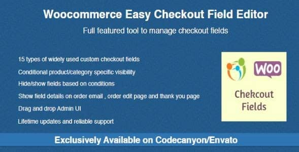 Woocommerce Easy Chechout Field