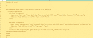 Custom WordPress Login Form