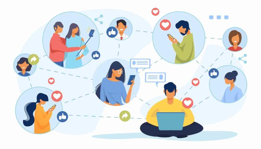 Attention from Social Media