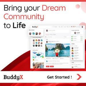 BuddyX BuddyPress Theme
