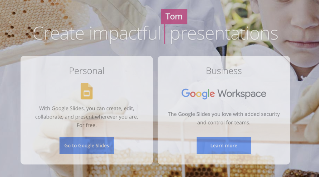 Google Slides wordpress