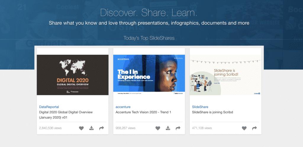 SlideShare wordpress