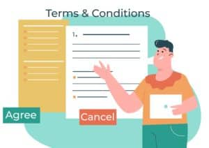 Terms Conditions WordPress Hosting