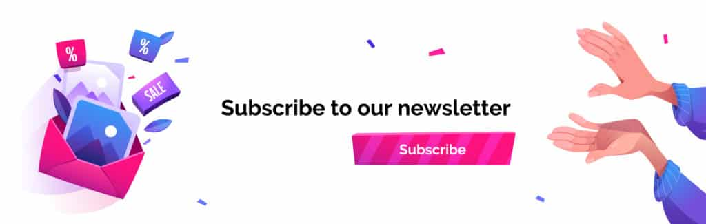 newsletter or promotional emails