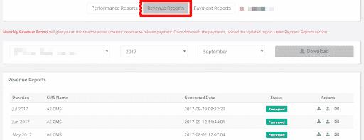 youtube analytics download report