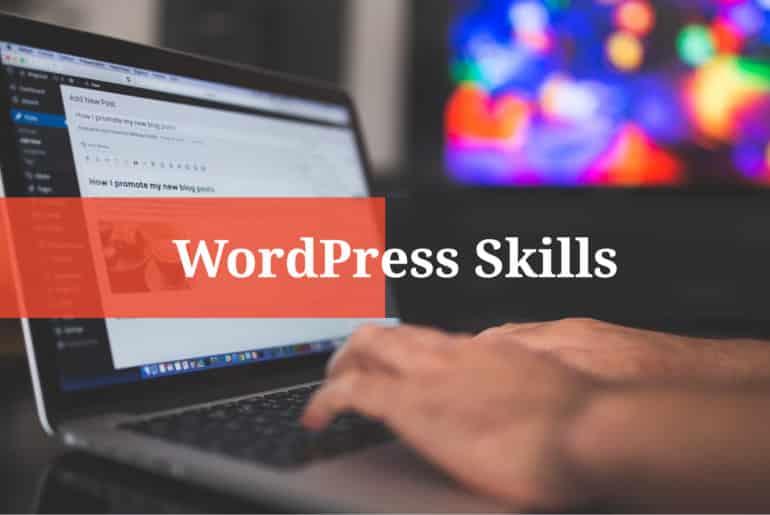 WordPress Skills